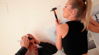 Mikes Apartment - Playful slender MILF Sicilia gently fucked in her little hole