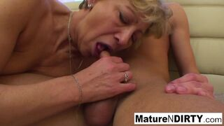 Mature N Dirty - Confused Blonde Grandmother Requires Hot help