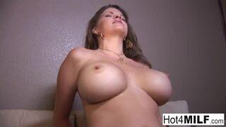 Hot 4 Milf - Big Tit Mom comes back for more Big Black Cock