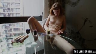 The Life Erotic - Kinky Cutie Enhances her Orgasms with Candles and Hot Wax Play