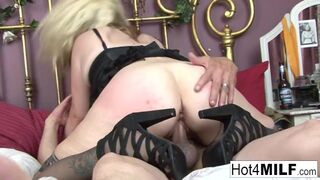 Hot 4 Milf - Big Tittied Momma wants his help with a Creampie