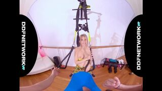DDF Network VR - Be Olivia Sin's Personal POV Trainer & Fuck her Hard in this VR XXX Video!