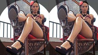 DDF Network VR - Colombian VR Goddess Andreina De Luxe Fucked Hardcore in POV Porn Scene