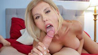 MILF Trip - Big Tit MILF Innkeeper Amber Chase Begs for Heavy Load