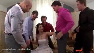 A Good Release - Fresh Marveloos Bride Blows all her Groomsmen