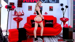 Anal Only - Stunning blonde angel Khloe Kapri likes hardcore anal fuck
