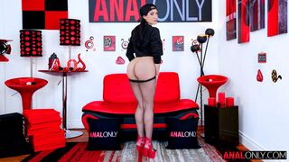 Anal Only - Latina babe Chloe Amour gives a perfect blowjob on the knees