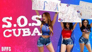 BFFS - Viva La Revolución - three Cubanitas Sell their Culos Online to Support the Protests in Cuba