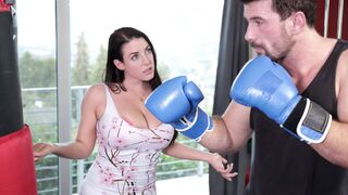 DDF Busty - Great-looking busty babe Angela White fucked by her own boss