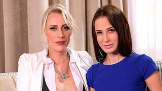 Porn World - Lezzie Tryst Turns Into Gangbang with Czech Cuties Nicole Love & Brittany Bardot