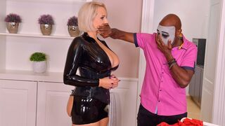 DDF Network - Glamorous MILF with giant boobs Angel Wicky wants a black dick
