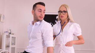 DDF Network - Beautiful blonde Angelika Grays feels a hard dick inside her ass