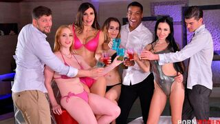 Porn World - The New Year's Eve Orgy Affair of the Century