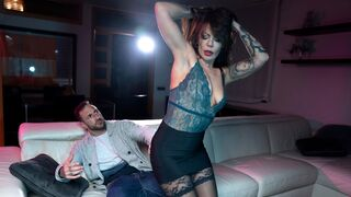 DDF Network - Glamorous mademoiselle Sonia Lion gives a very good blowjob