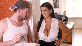 DDF Network - Hardcore double penetration with a big-boobed Latina Chloe