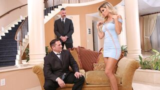 DDF Network - Awesome MILF with huge boobs Jessa Rhodes likes double penetration