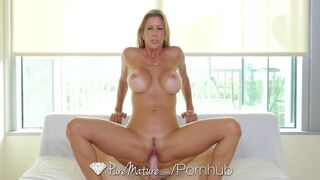 Pure Mature - Fuck and Creampie with Big Breasted MILF Alexis Fawx