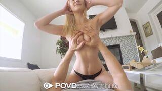 POVD - Delivery Man Fucks and Facials Blonde Jade Amber