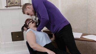 Tutor 4K - Tutor Calms down Angry Student with help of Quick Sex