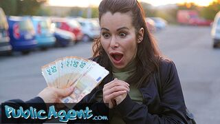 Public Agent - Stunning Brunette MILF with Fantastic Tits Fucks a Stranger to Pay a Fine
