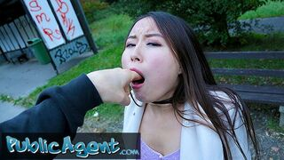 Public Agent - Cheeky Asian wants to Pay to Fuck his Massive Fat Cock