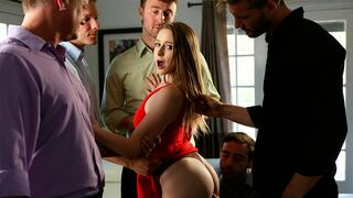 New Sensations - Multiple massive dicks for a passionate dick-sucking doll Laney Grey