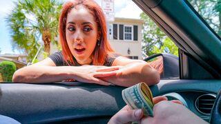 OyeLoca - Sexy redhead Latina Kira Perez gets banged in the cowgirl pose