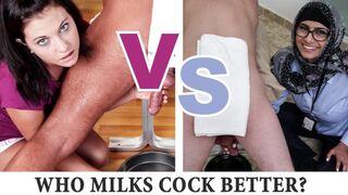 Mia Khalifa - Showdown with Brandi Belle Part 2! Cock Milking Edition
