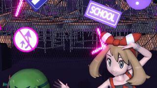 Sexy Pokegirl Strip Dance
