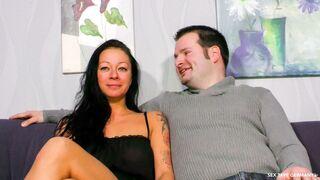 Sextape Germany - Horny German mature Lana Vegas gets cum on her big tits during hot bang