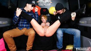 Bums Bus - German tattooed girl fucked like a whore