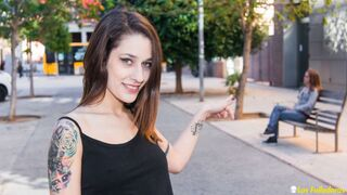 Las Folladoras - Spanish starlet Alexa Nasha in a kinky lesbian fuck with newbie Sandy Alser