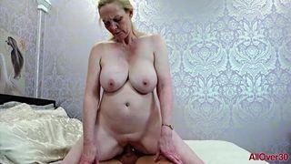 AllOver30 - Big Tits MILF Suzie Stone Hardcore Mature Sex
