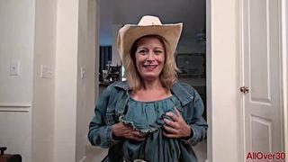 AllOver30 - Kinky Cowgirl MILF Jade Allan