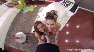 Abigail Mac - POV Threesome with Abigail Mac & Jessica Jaymes