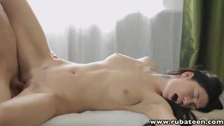 18 year old Russian babe Gerta massage anal sex